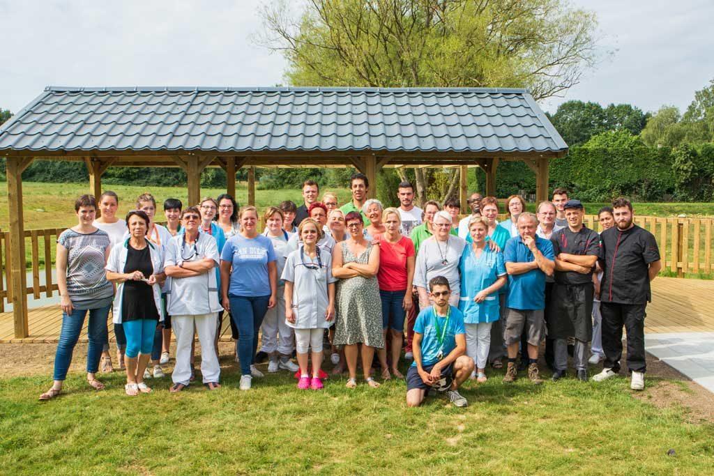 Equipe jardin du bultia